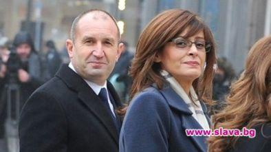 Президентът Румен Радев си освободи деня заради 50-годишнината на съпругата
