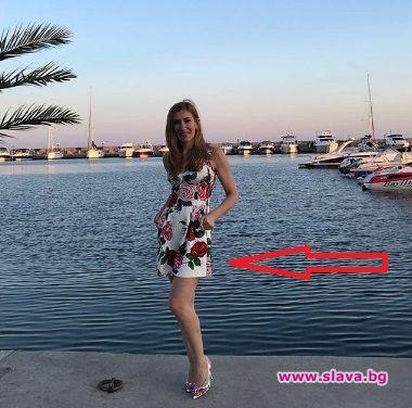 Николина Ангелкова намери време за кратък отдих по родното Черноморие.Между