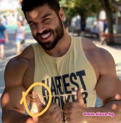 Снимка: Историята се повтаря: Фики продължава да вае мускули с Фотошоп