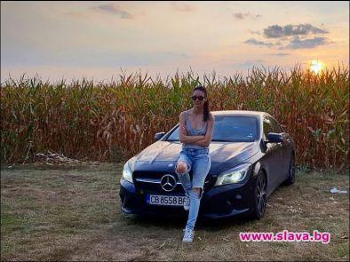 Актрисата Луиза Григорова има ново лъскаво возило. Звездата от сериалите