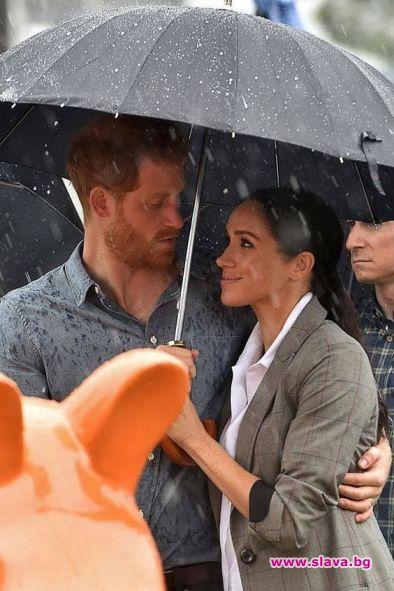 Херцогът и херцогинята на Съсекс не се притесняват от лошото
