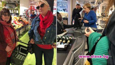 Актрисата Нона Йотова и поетесата Маргарита Петкова пазаруваха в компанията