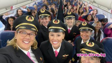 Делта Еърлайнс лети от Солт Лейк Сити до Хюстън всеки