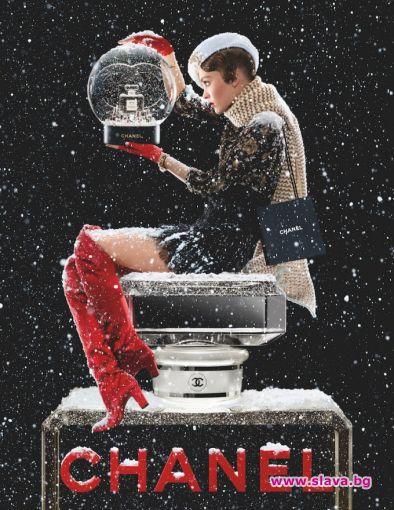 Лили-Роуз Деп участва в празничната кампания на аромата Chanel No.