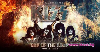 Рок легендите KISS ще свирят пред българска публика за последен