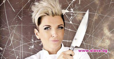 Ексцентричната кулинарка Силвена Роу се хвали със здравия организъм на