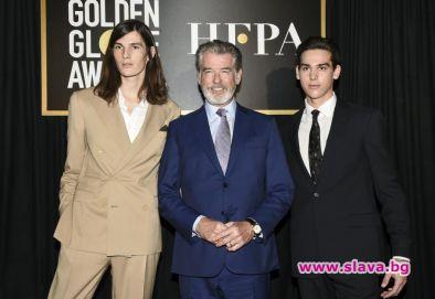Синовете на актьора Пиърс Броснан бяха избрани да помагат по