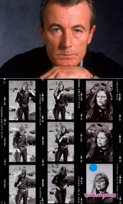 Отиде си легендарният британски фотограф Тери О`Нийл. Той почина на