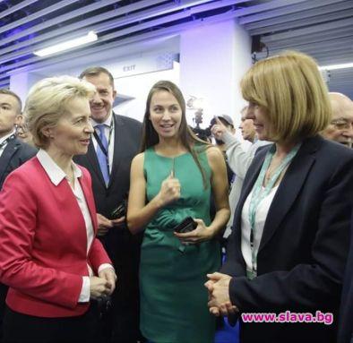 Кметът на София Йорданка Фандъкова се срещна с избрания президент