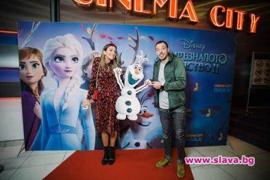 Гала премиерата на Замръзналото кралство 2 в България събра на