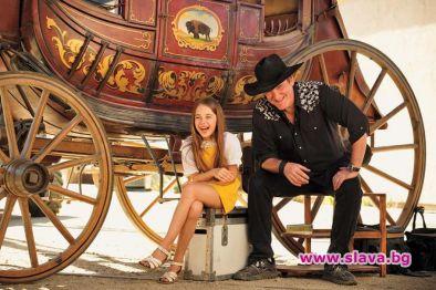 Куентин Тарантино е фен на 10-годишната актриса Джулия Бътърс, която