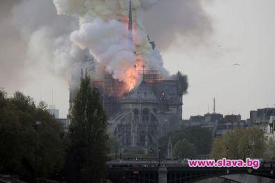 Пожарът в Нотр Дам през април е най-коментираната новина в