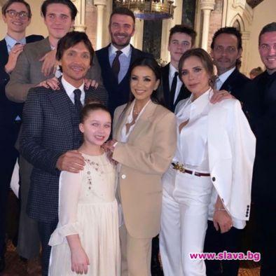 Актрисата Ева Лонгория и поп звездата Марк Антъни станаха част