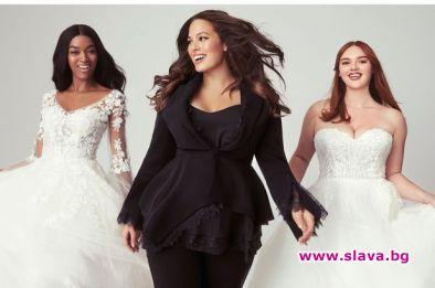 """В колаборация с марката за сватбени рокли """"Pronovias"""" бременната модна"""
