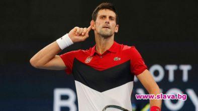 Джокович и компания отпразнуваха победата на ATP Cup със супер