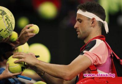 Най-добрият български тенисист Григор Димитров стартира с победа участието си