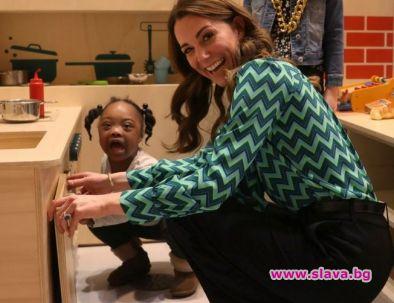 Кейт продължава да защитава каузата си в помощ на децата