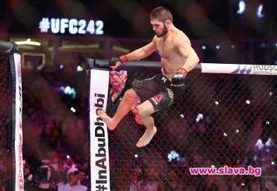 Шампионът на UFC Хабиб Нурмагомедов може да изиграе още един