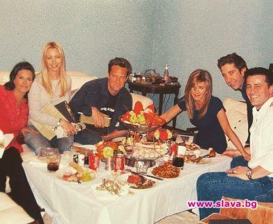 Кортни Кокс сподели снимка от последната вечеря на актьорите от
