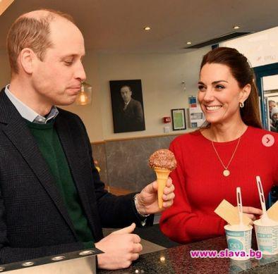 Принц Уилям и Кейт Мидълтън не престават да радват феновете