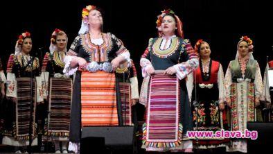 Женският хор Мистерията на българските гласове, който от две години