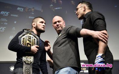 Очакваният с огромен интерес сблъсък между шампиона на UFC в