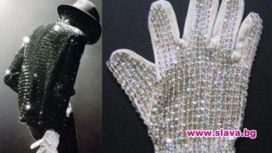 Бялата ръкавица с кристали на Майкъл Джексън, която той носеше