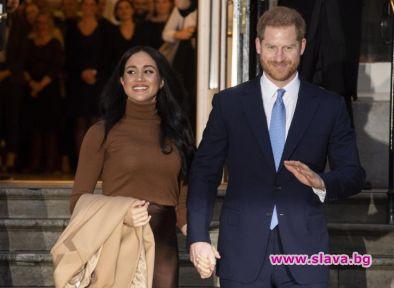 Само преди няколко дни принц Хари и Меган Маркъл приключиха