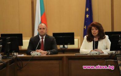 Президентът Румен Радев избра 1 юни, за да представи уеб