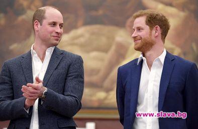 Въпреки напрежението между принцовете, Уилям и Хари все пак са