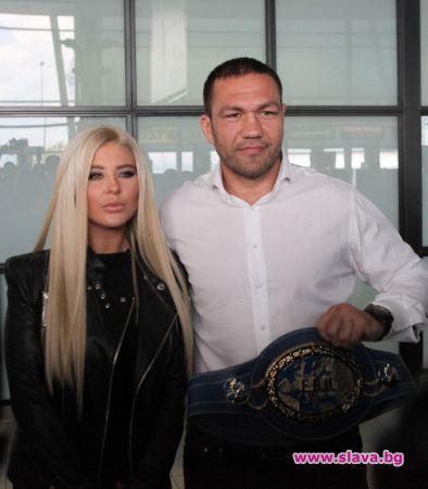 За няма и месец отношенията между Андреа и Кубрат Пулев