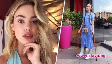След зверската катастрофа, която причини певицата Дивна, моделът Кристин Илиева