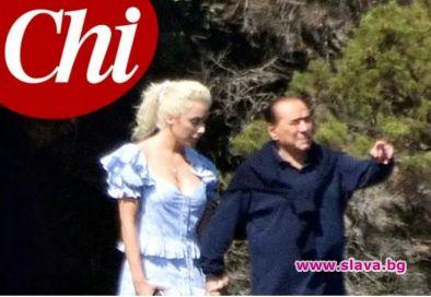 Италианската преса публикува първа снимка на 83-годишния Силвио Берлускони с