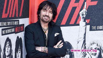 Барабанистът от хеви метъл групата Mötley Crüe Томи Лий разкри