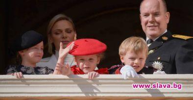 Публикуваха нова снимка на близнаци принц Жак и принцеса Габриела,