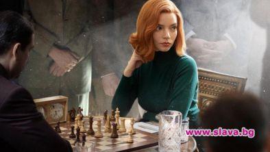 Новият сериал Кралски гамбит светкавично трупа фенове по целия свят.