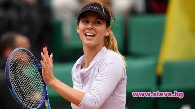Цветана Пиронкова е най-търсеният спортист и осмата най-търсена личност от