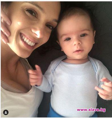 """Актрисата Луиза Григорова-Макариев показа за първи път сина си. """"Запознайте"""