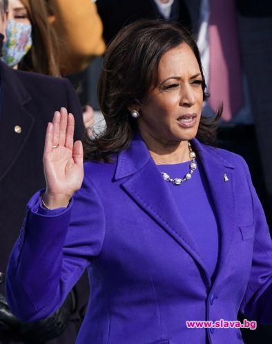 Камала Харис, която встъпи в длъжността вицепрезидент на САЩ, засега