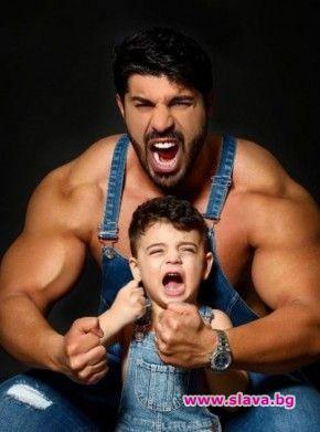 Синът на Тони Стораро Фики отново ще стане татко, съобщи