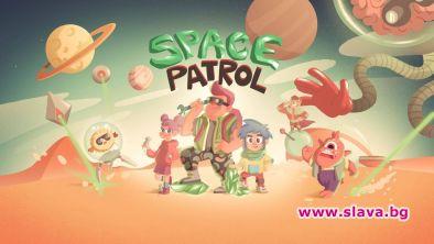 SPACE PATROL е първата образователна мобилна игра за ученици, която