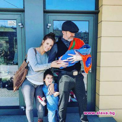 Актрисата Радина Кърджилова наскоро стана майка за втори път. На