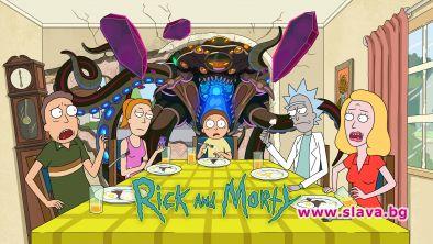 """На 21 юни пети сезон на анимационната поредица завъзрастнис наградиEmmy""""Рик"""