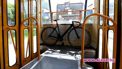 Велосипедистите в София вече могат да пътуват в градския транспорт