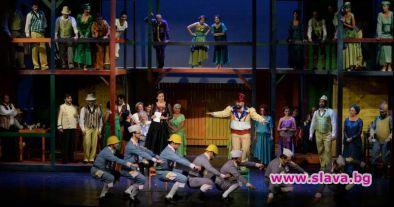 """Оперният спектакъл""""Любовен еликсир"""" по музика на Гаетано Доницети е едно"""