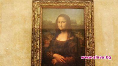 """Копие на известната картина на Леонардо да Винчи """"Мона Лиза"""","""