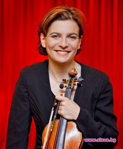 Изключителната българска цигуларка Албена Данаилова и първата жена концертмайстор на