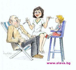 Психолозите рисуват напоследък т.нар. Поколение – сандвич. Това са хората,