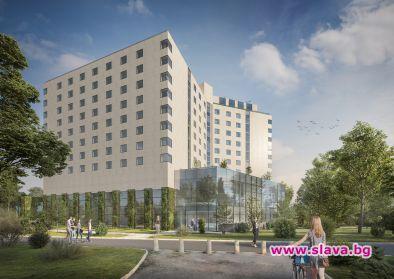 Проектът за трансформация на хотела беше представен на Building Innovation