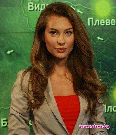 Синоптичката Никол Станкулова, която в момента не е на екран